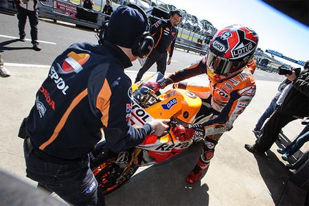 MotoGP Australia 2013: acortan la carrera de Moto2 y habrá flag-to-flag en MotoGP