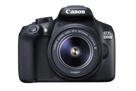 Canon EOS 1300D, una réflex con conectividad WiFi y vídeo FULL HD por menos de 400 euros