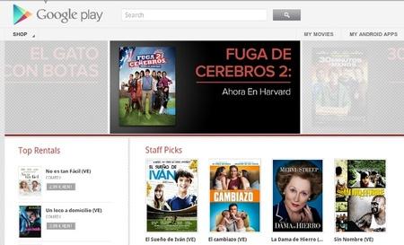 Google Play Películas, el servicio de alquiler de películas llega a España
