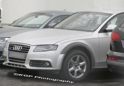 Audi A4 Allroad, fotos espía