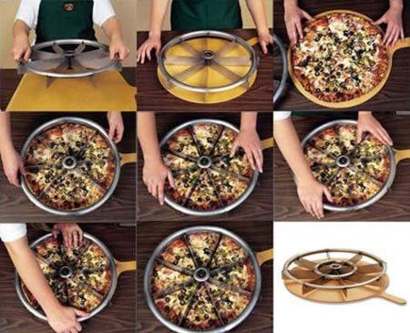 Cortador de pizza múltiple