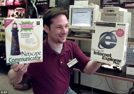 Internet Explorer Netscape