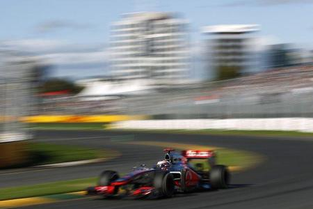 Mi Gran Premio de Australia 2012: Button sobresale entre la igualdad