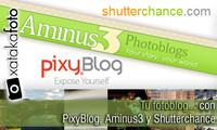 Tu fotoblog con PixyBlog, Aminus3 y Shutterchance