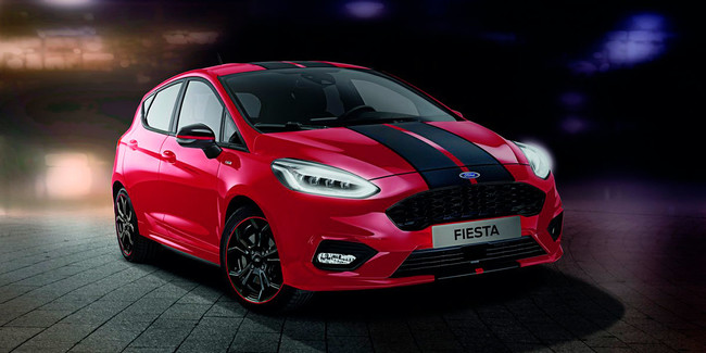 Ford le agrega picante al Fiesta ST-Line con las versiones Red & Black Edition