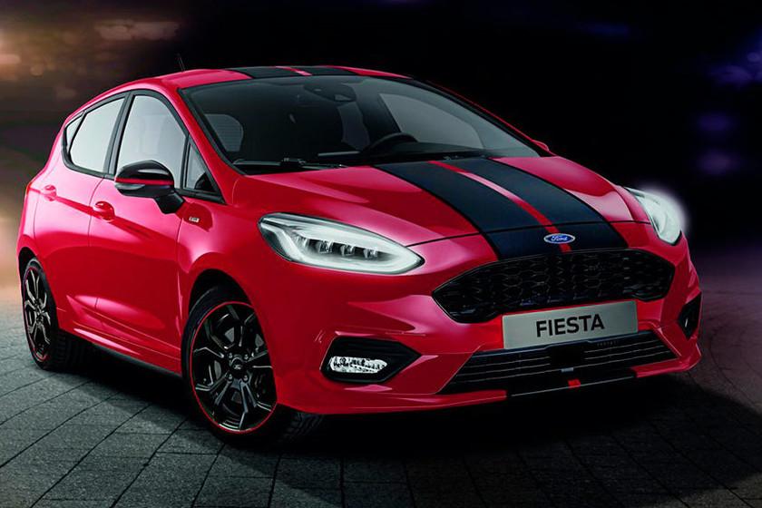 Ford le agrega picante al Fiesta ST-Line con las versiones Red & Black Edition