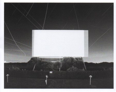Theatres. Autocine en Union City, 1993. Hiroshi Sugimoto