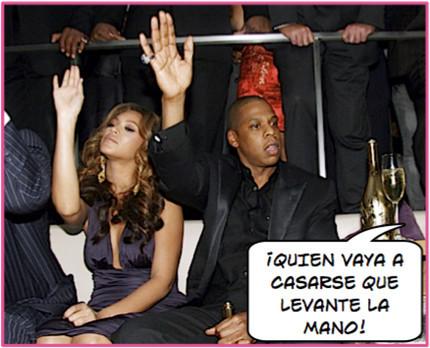 La boda de Beyoncé está al caer