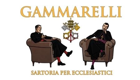 Gammarelli, la etiqueta de los calcetines del Papa