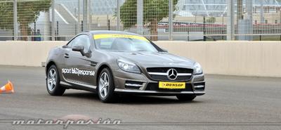 Dunlop Sport BluResponse, presentación y prueba en Yas Marina