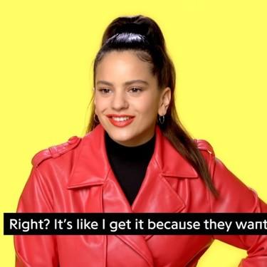 """Rosalía explica la letra de 'Aute Cuture' y ahora todo cobra más sentido: """"va de poderío, de sentirse con fuerza"""""""