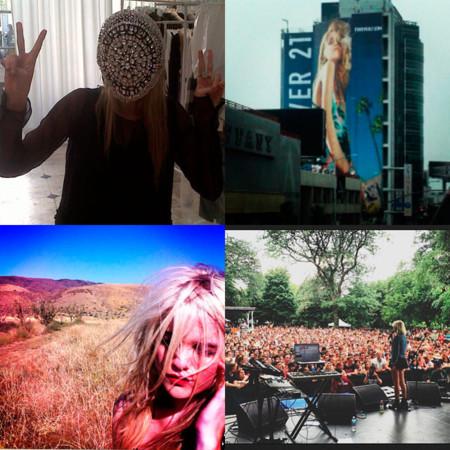 Instagram de la modelo cantante e it-girl Sky Ferreira