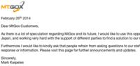«Estamos trabajando para encontrar una solución», dice el CEO de MtGox