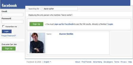 Aaron Sorkin prepara una película sobre los creadores de Facebook