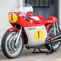 Se van a pagar 250.000 euros por esta preciosa MV Agusta de Agostini, ¡y no es la original!