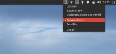 Sincroniza tu móvil Android con sistemas basados en Ubuntu con KDE Connect Indicator