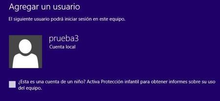 Cuenta con Protección Infantil