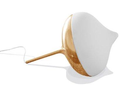 Una lámpara peonza