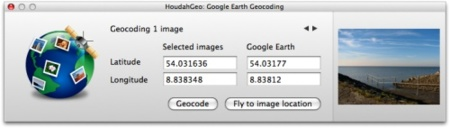 Houdahgeo 2.2, geolocalización actualizada
