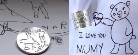 Munota Art by Kids, el dibujo del peque hecho joya