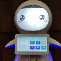 """REK, así es la primera robot que """"trabajará"""" con el gobierno de México: un robot educativo desarrollado en China"""