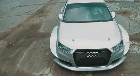 Audi quattro RC Car Challenge: S1 EKS RX vs coche a radio control