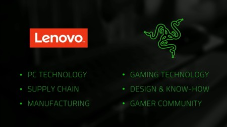 Lenovo Razer Pcs Partnership