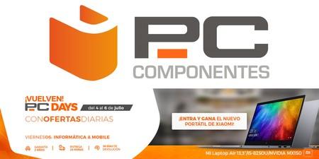 PC Days 2018 de PcComponentes: las 19 mejores ofertas en Informática y Telefonía