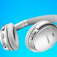 De gama alta y en color plata, los auriculares de diadema con cancelación de ruido Bose QuietComfort 35 II están a precio mínimo en Amazon por sólo 182 euros