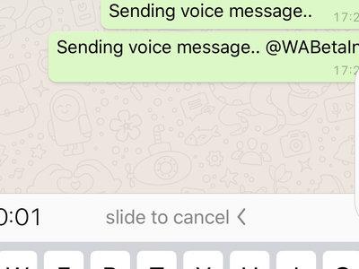 Adiós a mantener el botón del micrófono pulsado eternamente: WhatsApp facilitará las notas de voz