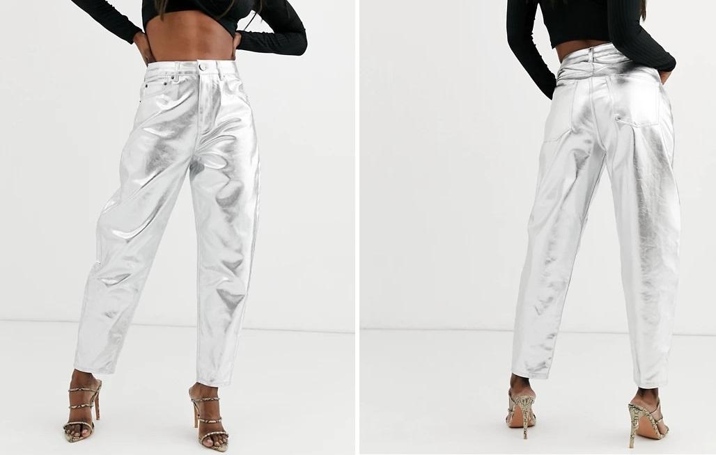 Pantalón con diseño globo