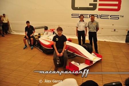 Se presenta en Monza el nuevo monoplaza de la GP3 Series
