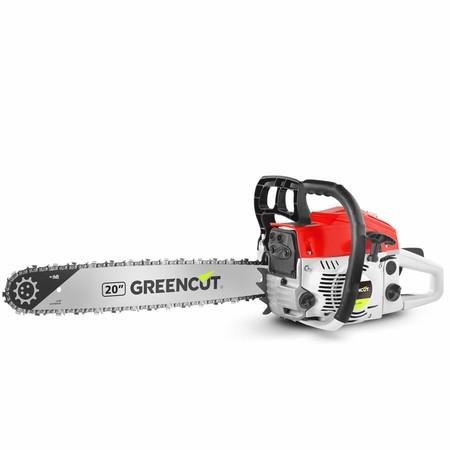 Con la la motosierra de gasolina Greencut GS6200 20 podemos hacer leña o podar por sólo 74,99 euros gracias a Amazon