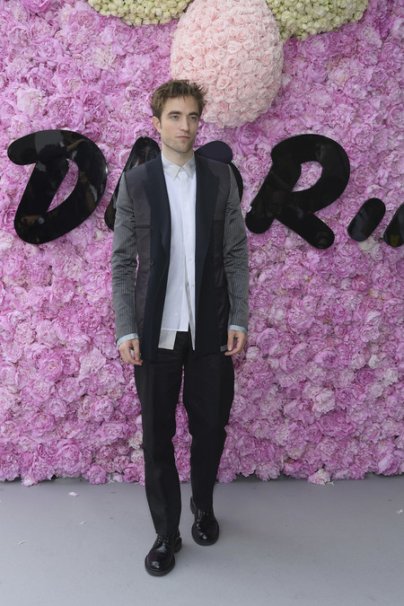 Robert Pattinson Dior Homme Outside Arrivals Paris Fashion Week Menswear Spring Summer 2019