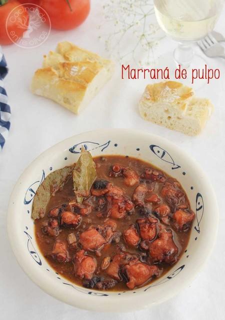 Marrana De Pulpo Receta Almeria 11
