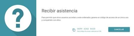 Asistencia Chrome