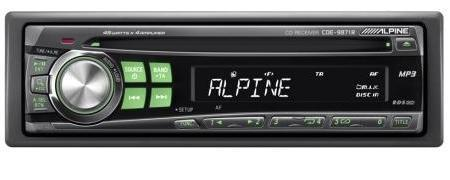 Radio para el coche: Alpine