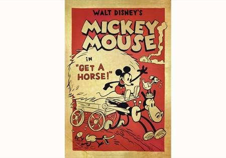 El cortometraje Get a Horse! que celebra los 85 años de Mickey Mouse es extraordinario