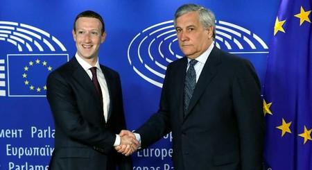 Zuckerberg Tajani