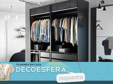 ¿Preferís los armarios cerrados o abiertos? La pregunta de la semana