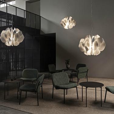 El reconocido artista y diseñador Marcel Wanders presenta en Madrid sus lámparas NIGHTBLOOM para Lladró