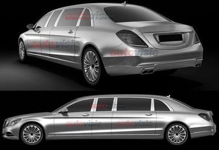 Mercedes-Benz Clase S Pullman