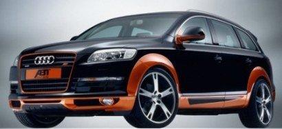 Audi Q7 orange