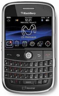 Los precios de BlackBerry Bold en Movistar