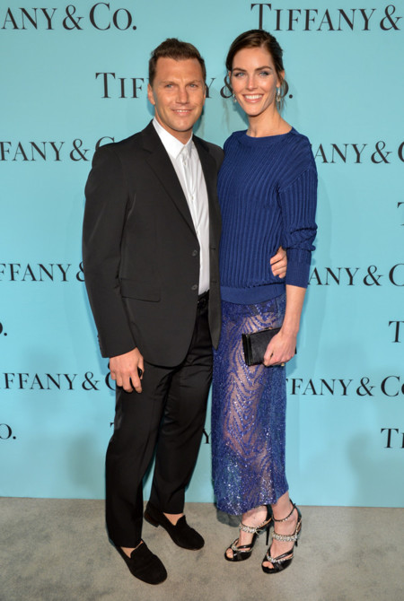 Tiffany & Co Blue Book gala 2014 red carpet Hilary Rhoda Jason Wu