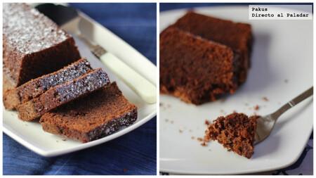 Bizcocho de galletas de jengibre y turrón de chocolate: receta de aprovechamiento