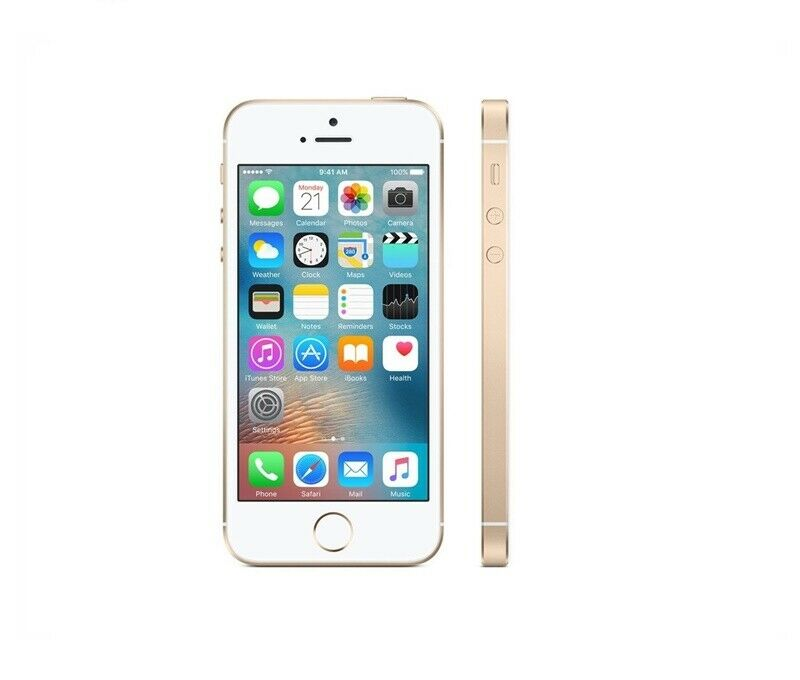 IPHONE SE 16GB LIBRE COLOR DORADO / EN BUEN ESTADO / 3 MESES DE GARANTIA