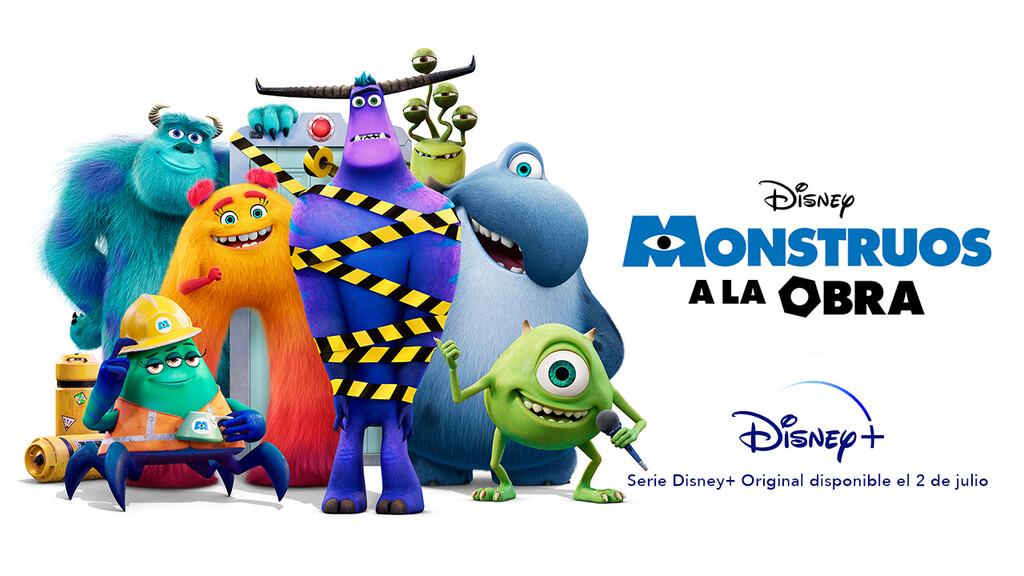 'Monstruos a la obra': Pixar acierta con su primera serie para Disney+, una divertida secuela de 'Monstruos, S.A.'