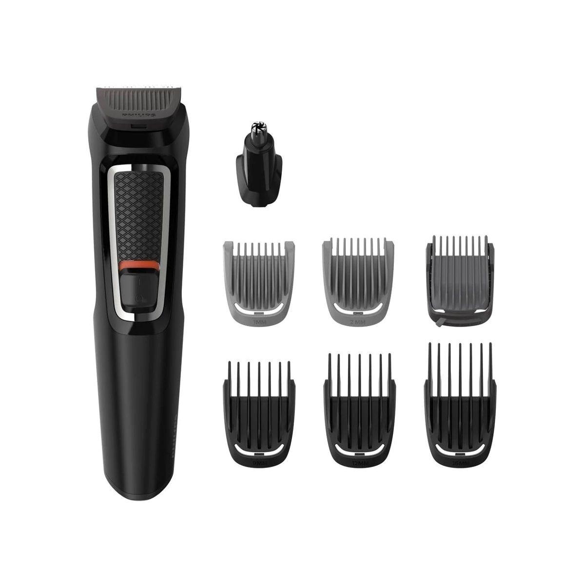Recortadora de barba y cortapelos Philips serie 3000 8 en 1
