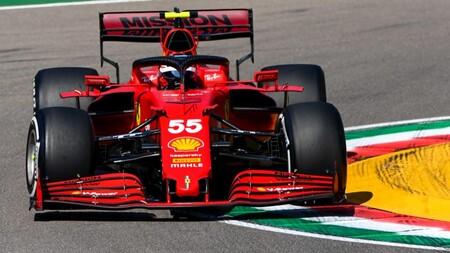 Carlos Sainz Imola F1 2021